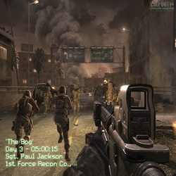 Call of Duty4のSSその1